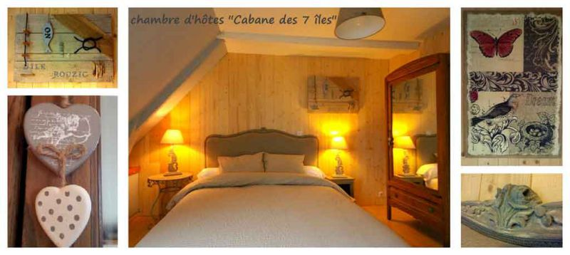 Guest rooms bed and breakfast B&B b&b Perros Guirec Brittany France ...